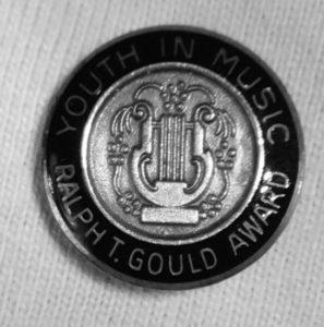 Gould Award Pin