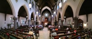 Rossini Club concert venue at Cathedral of St. Luke's in Portland.