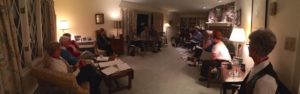 Rossini Club holds its Annual Meeting at the home of one of the members.
