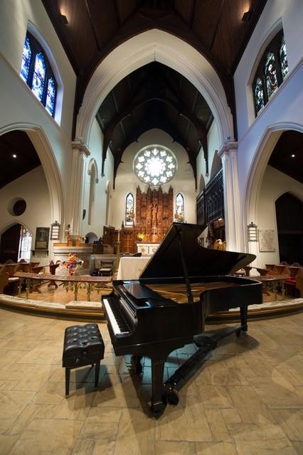 Rossini Club's 1939 Steinway piano.